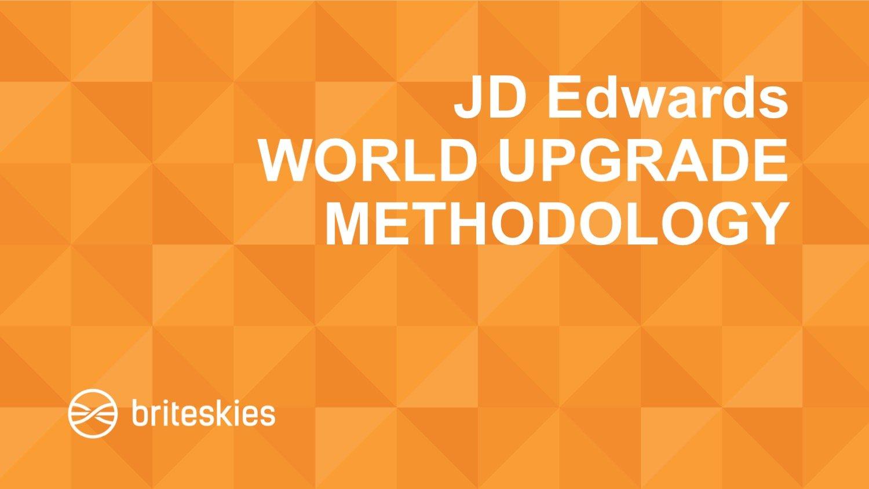 jd-edwards-world-upgrade-methodology